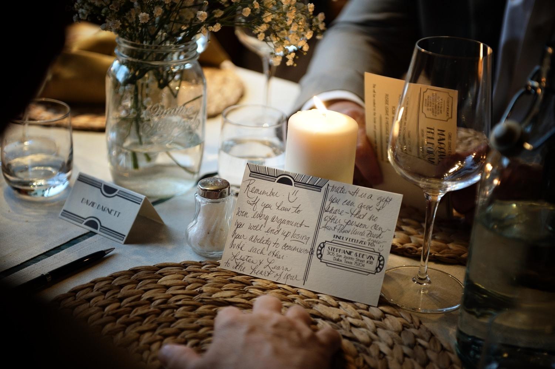 delle cartoline da compilare per gli auguri ai futuri sposi - whish card to write in for the couple