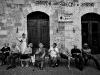 La sposa a San Gimignano - Fotografia di matrimonio