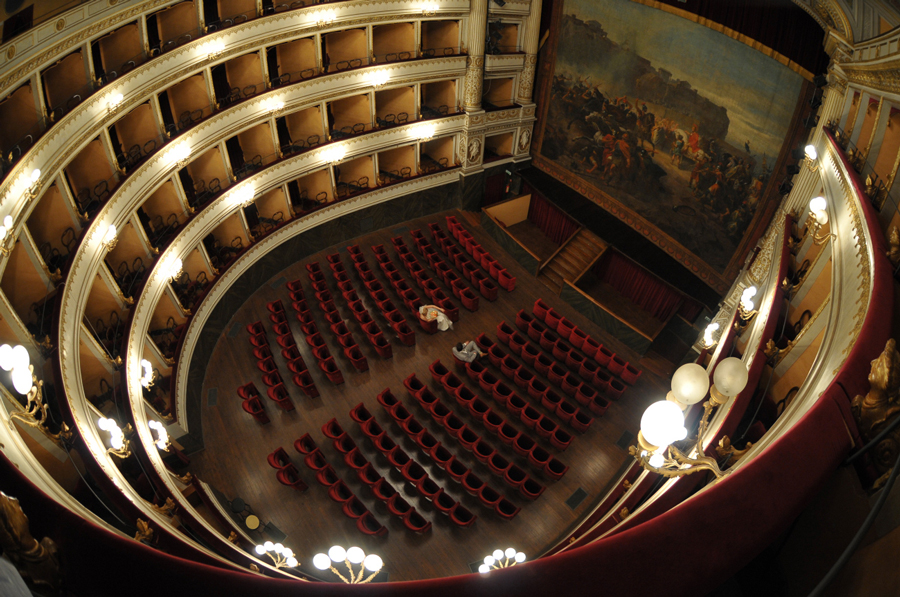 Il Teatro Mancinelli in Orvieto as a location for the civil cerimony