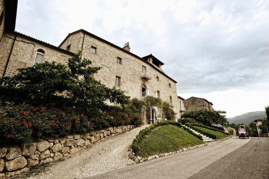 Castello di Montignano a circa una mezz'oretta di macchina da Terni