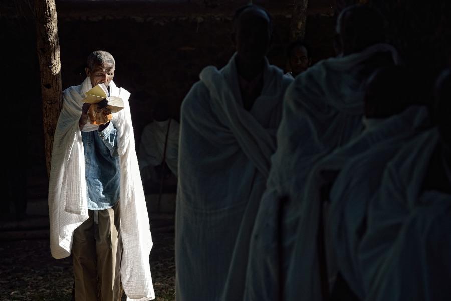 Nged, Eritrea, chiesa coopta, festa