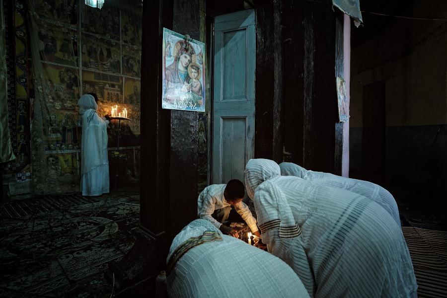 Nged, Eritrea, Festa della Madonna,