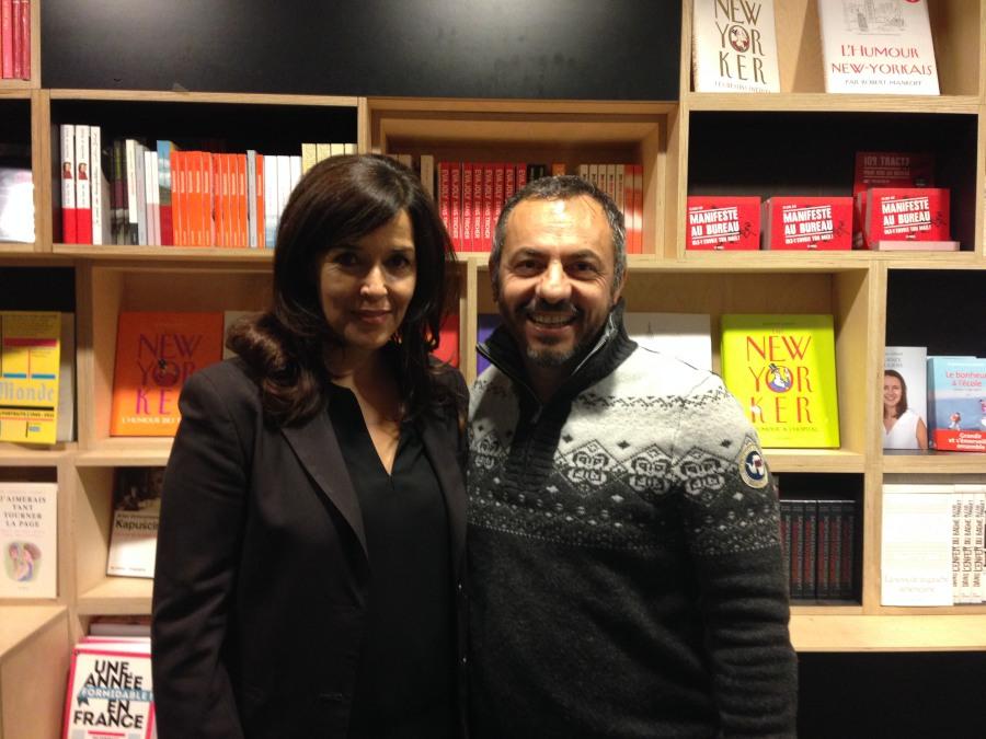 Con Darcy Padilla durante il vernissage del suo libro 'Family Love'