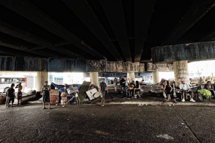 viadotto machado, garrido, accademia boxe, palestra, senzatetto, reportage, edoardo agresti, fotografo