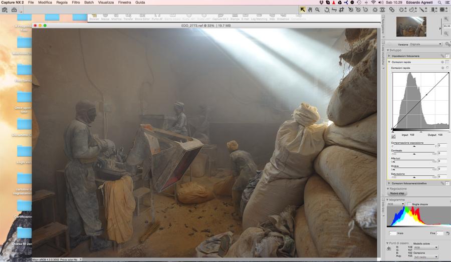 fotografia, elaborazione digitale, fotografo, originale, file raw, post-produzione