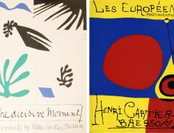 HC Bresson, libro, Momento decisivo, Matisse, Mirò