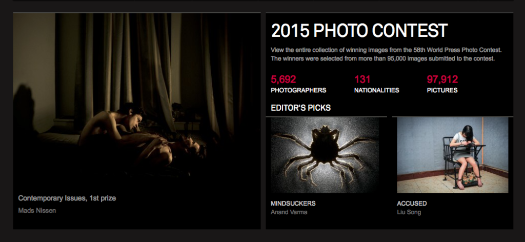 WPP2015 - World Press Photo