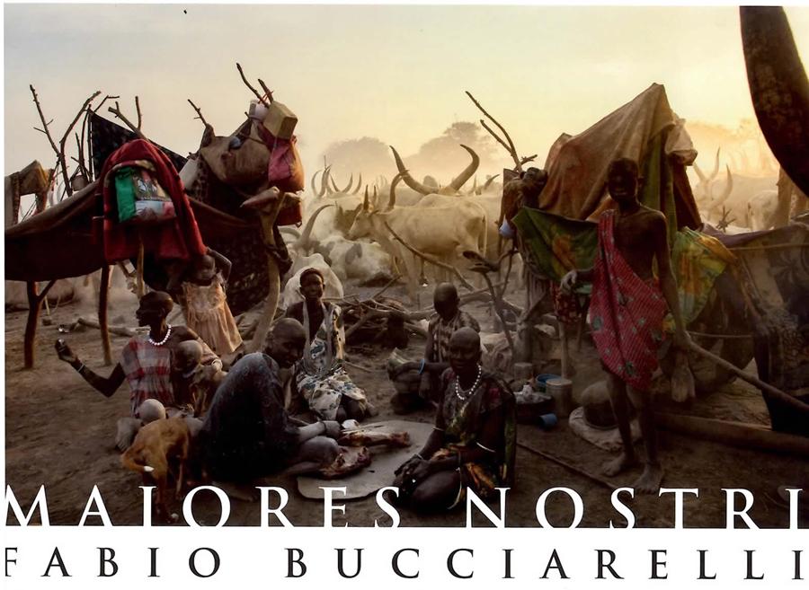 Opere in vendita di Fabio Bucciarelli relativamente al progetto sul Sud Sudan pubblicato recentemente su Time e Guardian