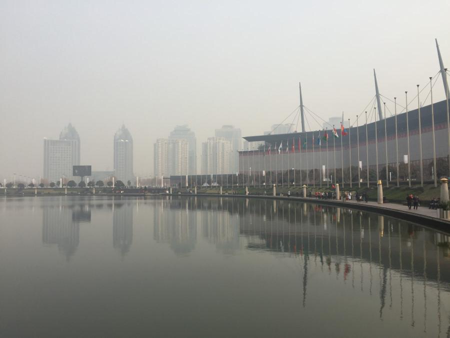Il centro espositivo dove avrà luogo l'esposizione nell'aprile del 2016