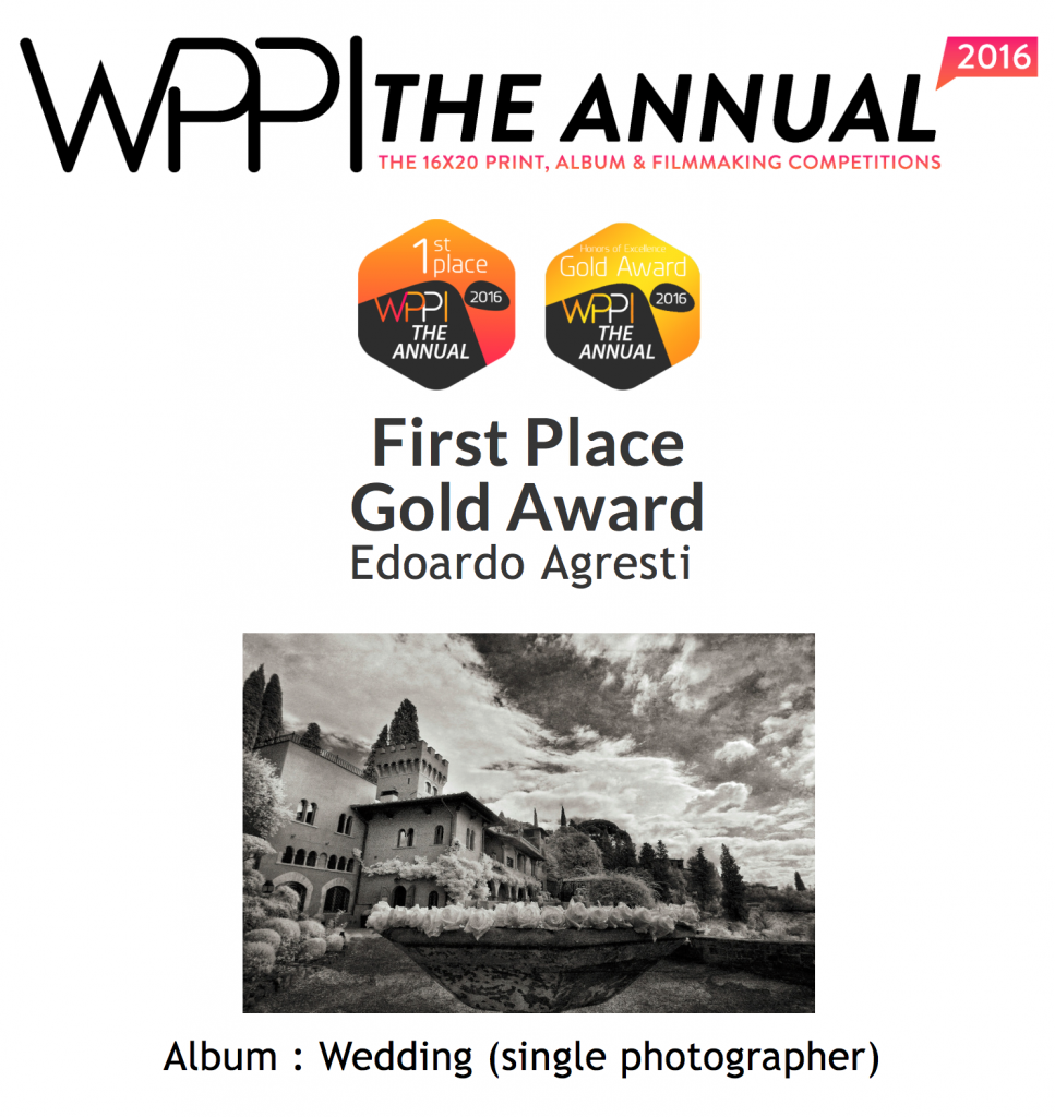 WPPI, award, first price, primo premio, wedding, matrimonio, best wedding photographer