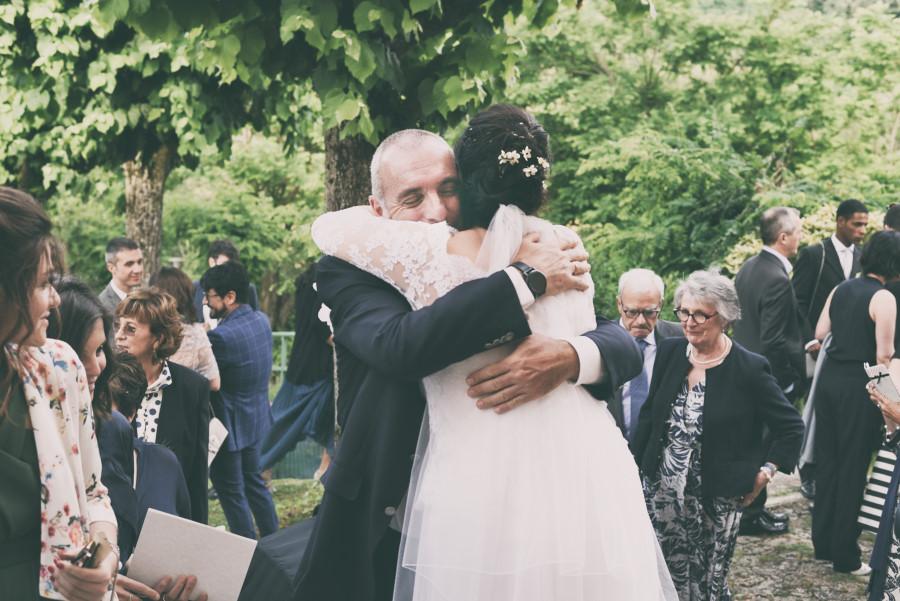 Fotografia di matrimonio, cerimonia in chiesa, sposa . Fotografo Bologna,