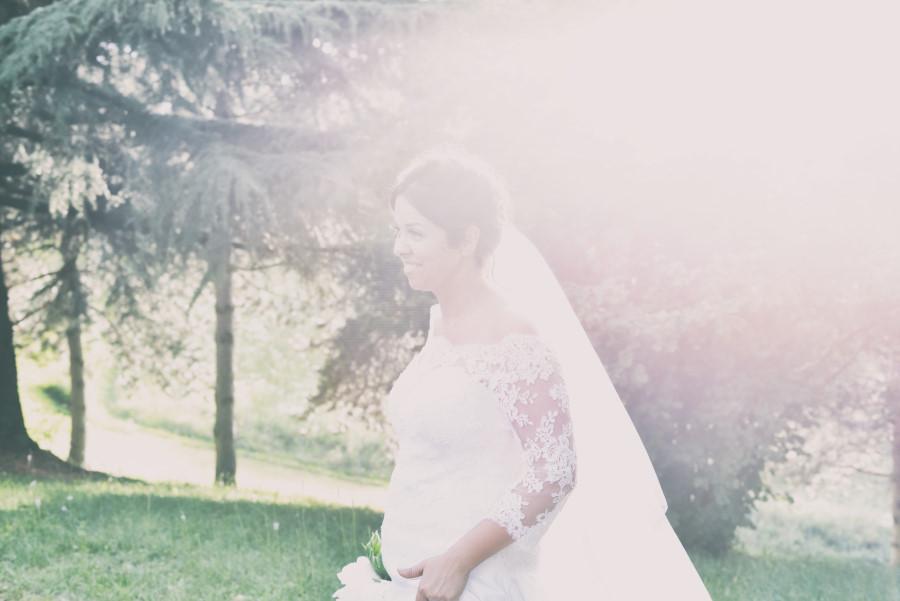 Fotografia di matrimonio, cerimonia in chiesa, sposa . Fotografo Bologna,, ritratto