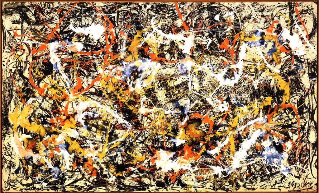 Gli 'schizzi' di Pollock