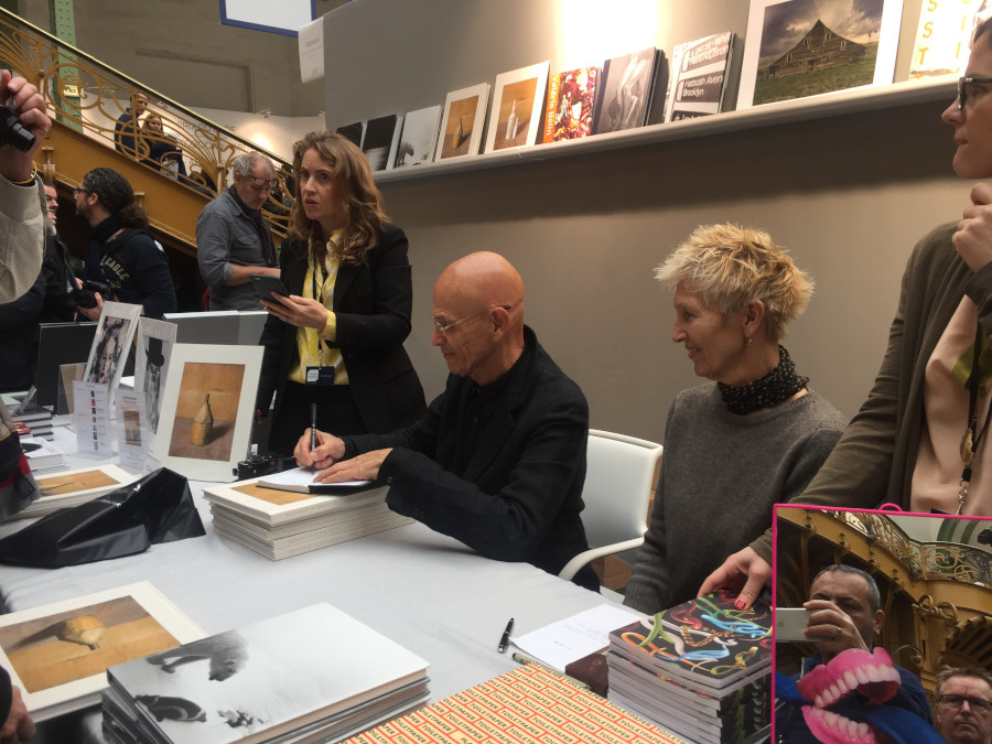Paris Photo 2016, Book Signing: Joel Meyerowitz