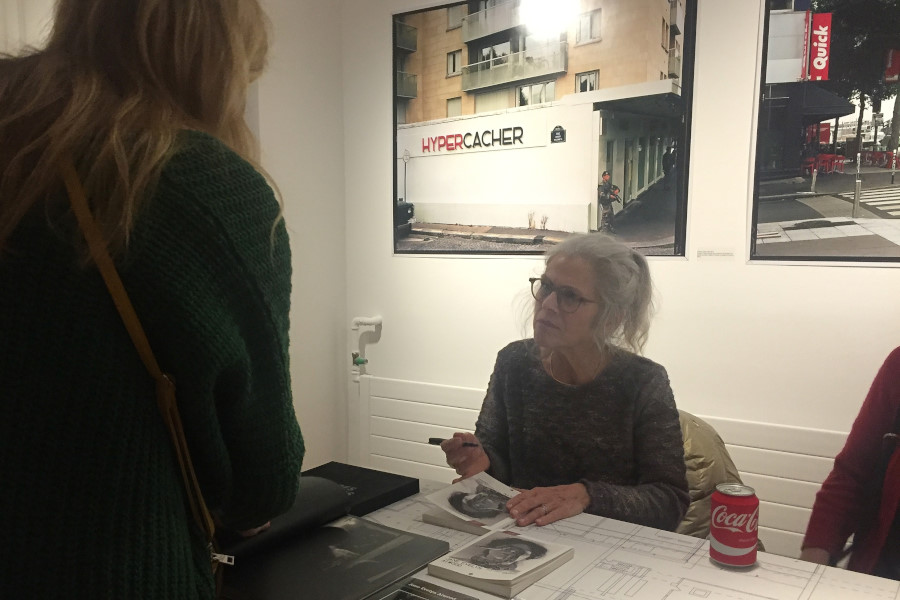 Agenzia VU', Paris, Book Signing: Jane Evelyn Atwood