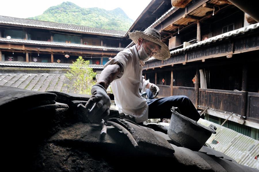 Tolou, case-fortezza circolari, Hakka, Cina, viaggio, workshop, fotografia