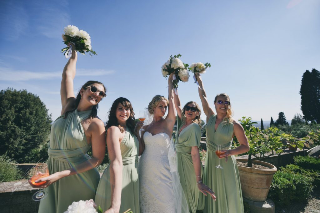 Matrimonio, Villa Le Fontanelle, Firenze, Fotografo, best wedding photographer, Florence, Tuscany, luxury, stunning, bridesmaid