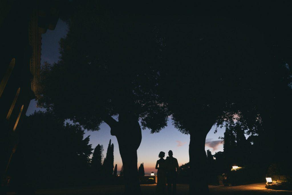 Matrimonio, Villa Le Fontanelle, Firenze, Fotografo, best wedding photographer, Florence, Tuscany, luxury, stunning, inspiration, sunset, blu hour, silhouette