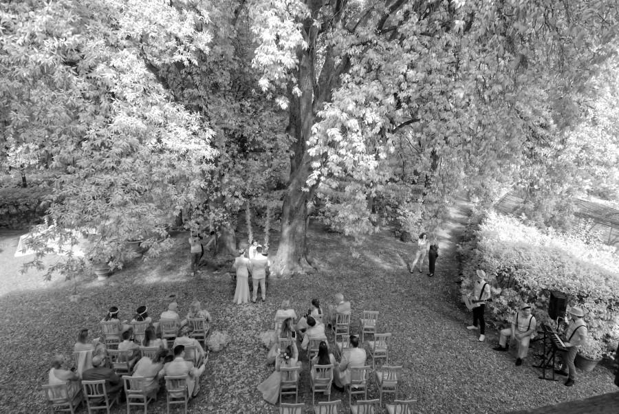 Matrimonio, wedding, Villa Il Leccio, Firenze, Florence, Fotografo, Photographer, Toscana, Tuscany, ceremony, infrared