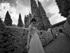 Ritratto di sposa a Vignamaggio - Toscana - Fotografia di matrimonio