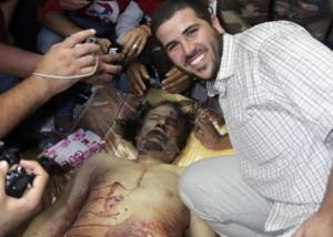 oto IPP/Imago Misurata - Libia - 21.10.2011 Guerra civile in Libia - Morte del rais Gheddafi